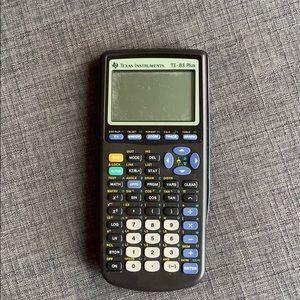 Texas Instruments TI 83 Plus Black